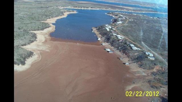 WF's Hoping to Put Lake Kemp Water Back Into the System