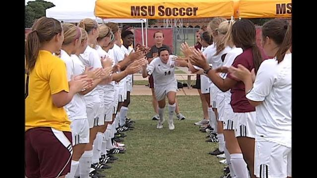 2014 Girls Soccer Camp Hosted by Midwestern State University -- June 9-13, 2014