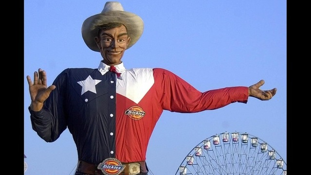 Big Tex Voice Fired