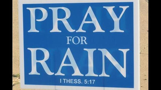 Folks Gather to Pray for Rain