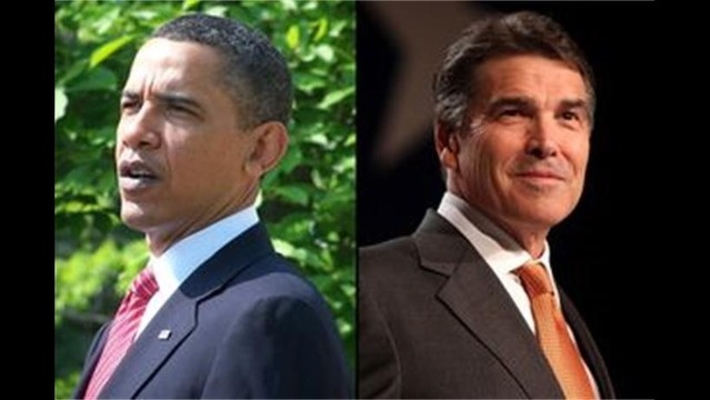 Governor Perry Rejects Handshake with Mr. Obama