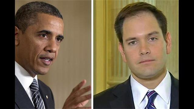 Rubio Blasts Obama for Resistance to Border Security Provision