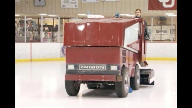 Man Goes on Drunken Zamboni Ride inside Oklahoma City Arena