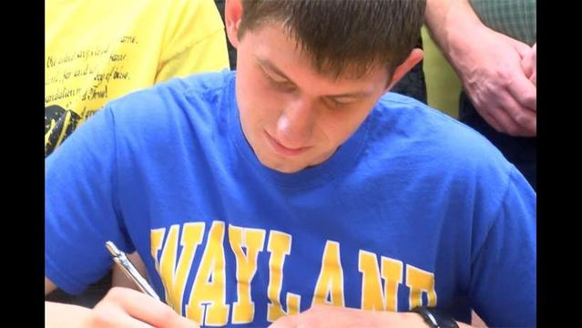 Bellevue's Tyler Terry Signs To Play College Ball
