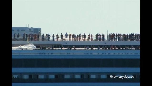 Long Ride Home for Disabled Cruise Ship's Passengers