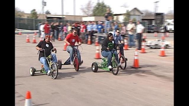 City Nastrike Racing Raises Funds For Families in Need