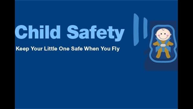 Keep Your Little Ones Safe When You Fly
