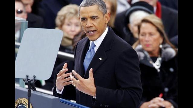 In Second Inaugural, Obama Appeals to His Progressive Base