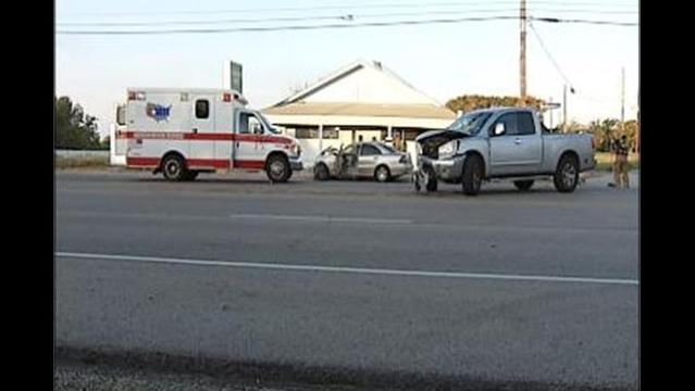 Two Injured in Burkburnett Rd. Crash