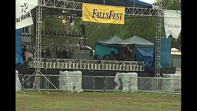 Falls Fest Rained Out