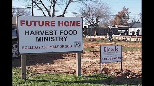 New Harvest Food Ministry Facility to Open Soon