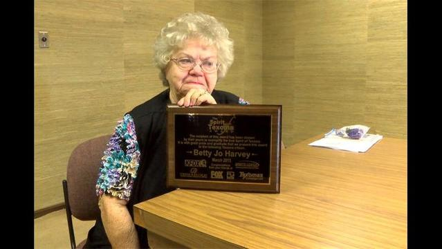 Betty Jo Harvey Volunteers Over 100,000 Hours of Service