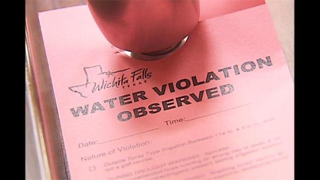 Water Fines on the Rise in Wichita Falls