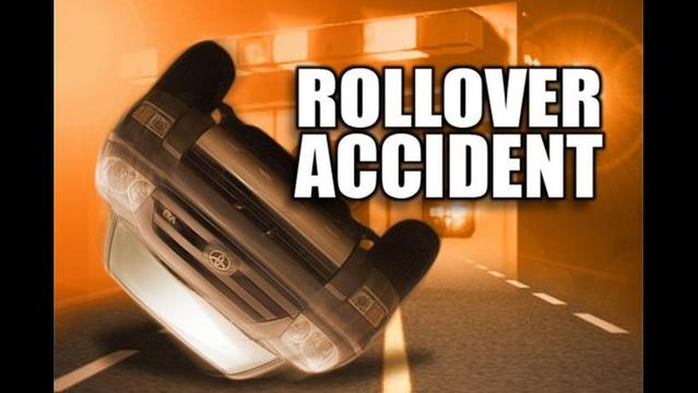 Rollover Accident on Kell East Access Road