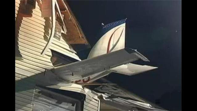 Small Plane Crashes into Virginia Apartment