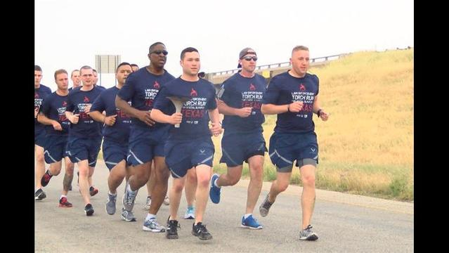 Special Olympics Torch Passes through Texoma