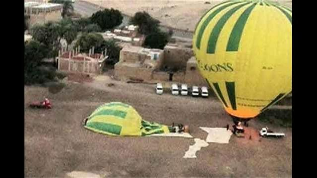 19 Tourists Die in Hot Air Balloon Crash in Egypt