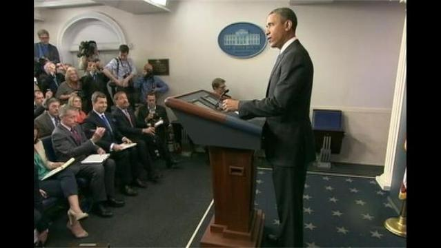 Obama Faces the Press