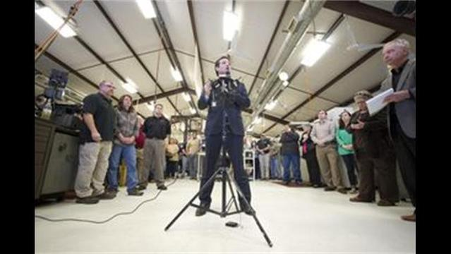 Sen. Ted Cruz Talks Guns