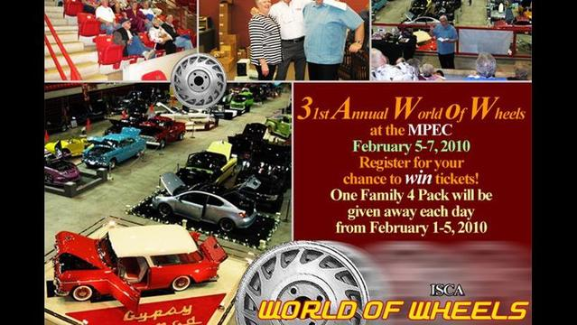 2010 World Of Wheels Landing Page
