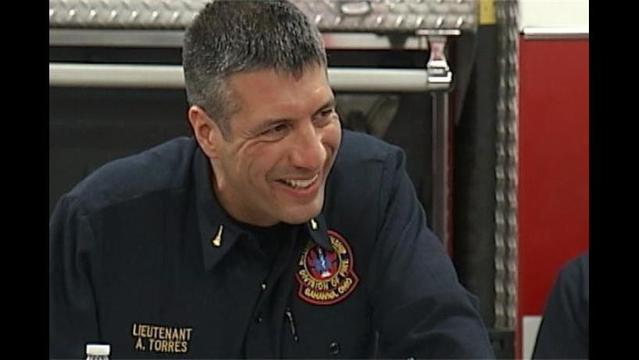 Ohio Firefighter Returns to Duty after Losing Foot