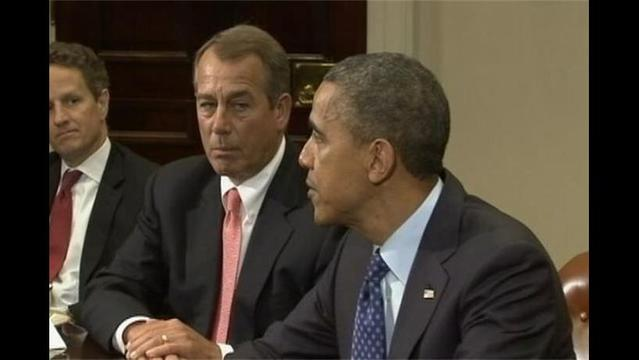 Obama Doesn't Have the 'Guts' to Cut Spending, Says Boehner