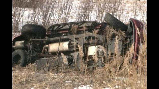 Minnesota Woman Survives Hours Trapped in Car Partially Submerged in Ice