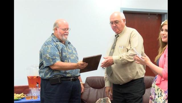 Clay County Justice of the Peace Retires
