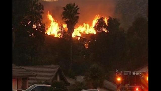 Winds Fuel California Wildfires