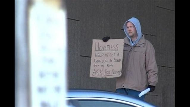 Homeless Man Hired after Handing out Resume on the Street