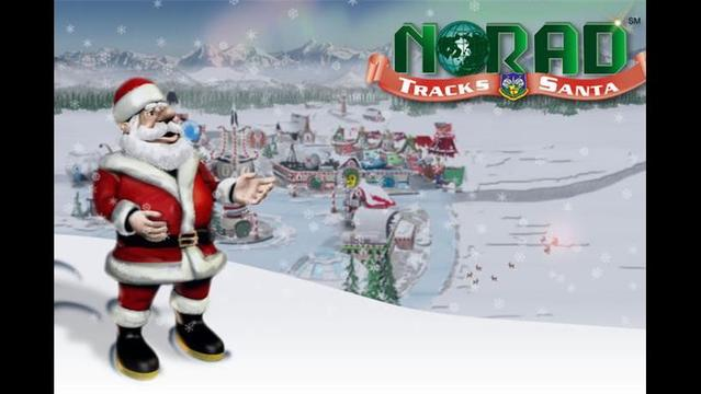 NORAD Providing Up-to-the-minute Details on Santa's Trip