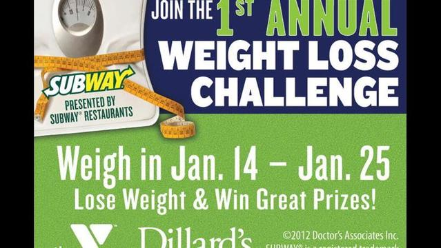 Last Week to Weigh In for YMCA and Subway's Weight Loss Challenge