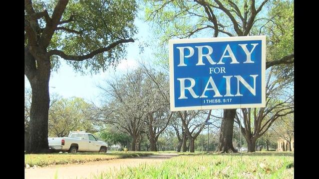 Community Wide Pray for Rain Assembly to be Held Wednesday