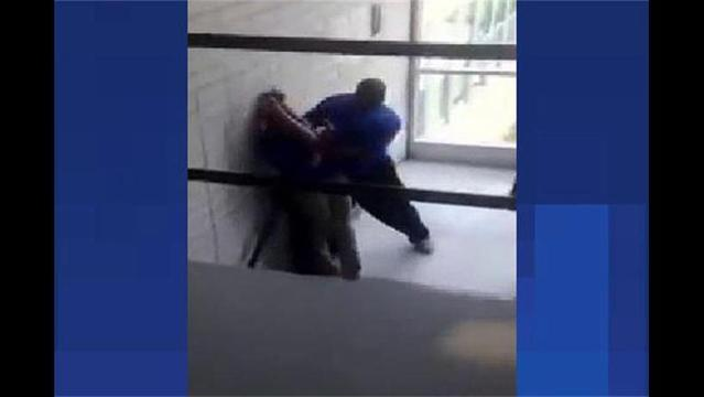 Chicago School Employee Pushes Student Down Stairs