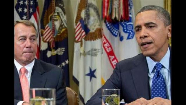 Boehner, Cantor Vow to Work through Christmas Break to Reach Fiscal Deal