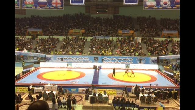 Iran Beats US in Wrestling World Cup