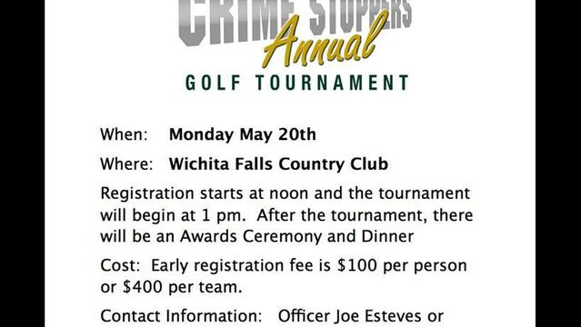 2013 Crime Stoppers Golf Tournament