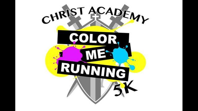 Run for Color at Christ Academy Fundraiser