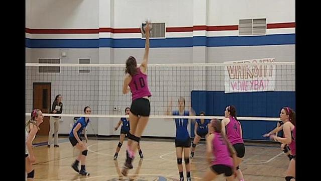 High School and College Volleyball: Oct 6 2012
