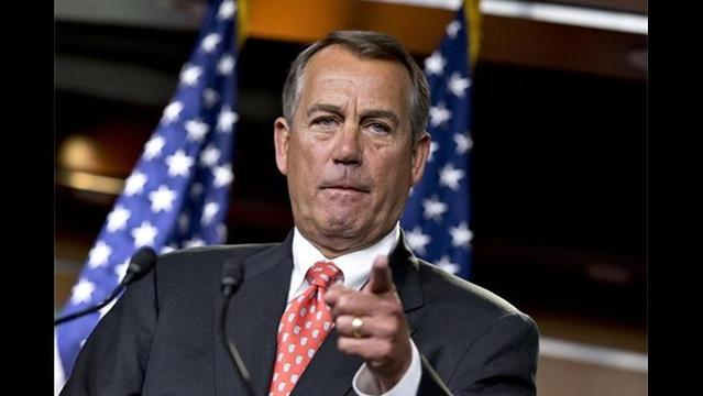 Boehner: 'Serious differences' Separate GOP from Obama