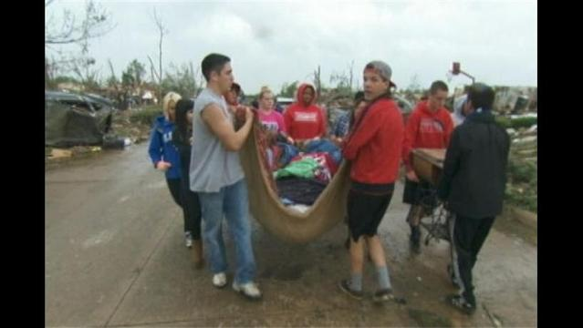 Moore Clean-Up Continues