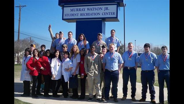 WFISD Career and Technology Students Succeed at SkillsUSA District Meet