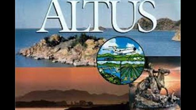 Water delivery to the City of Altus has been temporarily interrupted.
