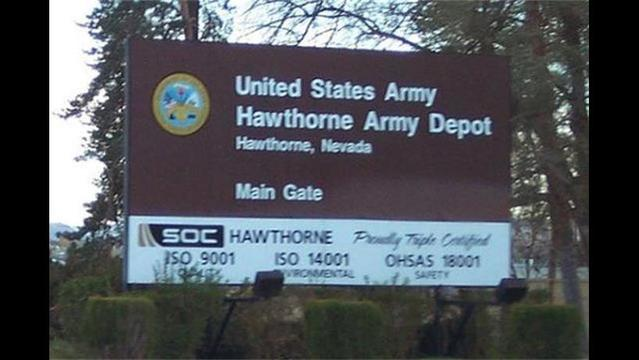 Explosion at Nevada's Hawthorne Army Depot Kills 7 Marines