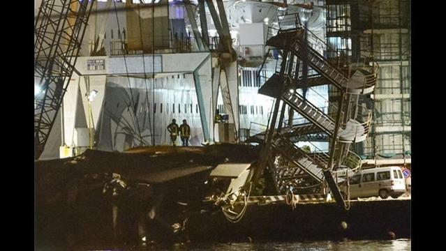 Six Killed in Italy when Ship Strikes Control Tower