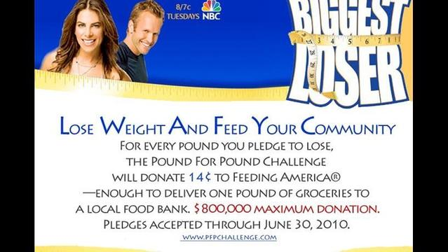 Biggest Loser - Pound For Pound Challenge