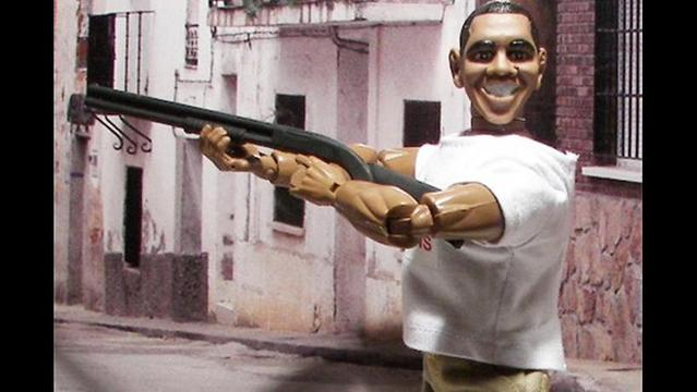 Skeet-Shooting Obama Action Figure Goes on Sale