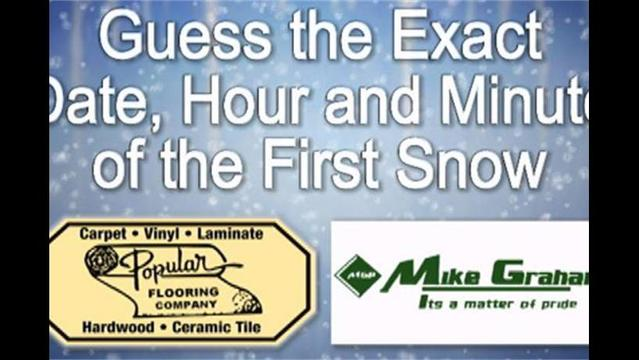 2009 First Snow Banner And Sponsors