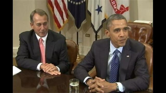 Boehner Implores Obama to Fix Spending Cut Crises, Says He Created It