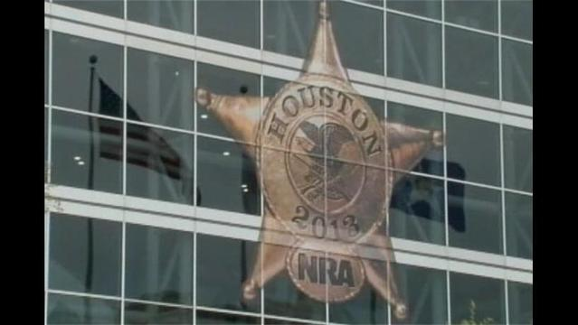 NRA Holds Convention in Houston